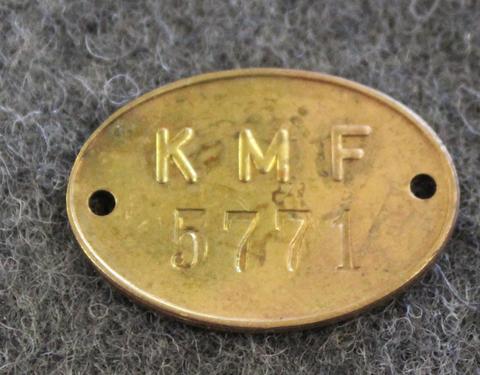 Kungliga Marinförvaltningen, KMF, Kuninkaallisen laivaston materiaalihallinto.