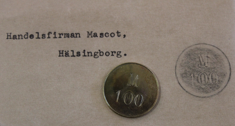 Handelsfirman Mascot, Hälsingborg. M100