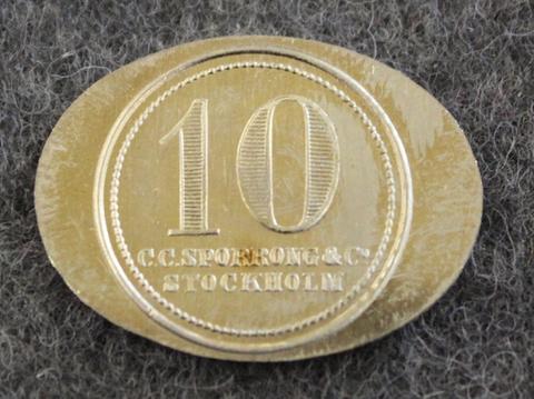 Marta hushållsskola 10, kotitalouskoulu, 27x20mm
