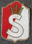 Finnish home guard shoulder sleeve patch: Tavastia district