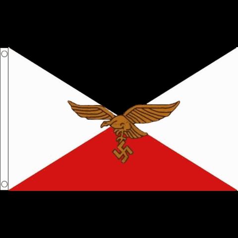 WW2 lippu: Flagge der Kommandierenden Generale der Luftwaffe