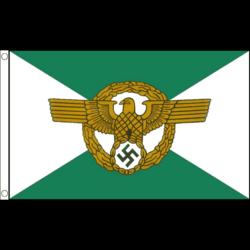 WW2 lippu: Ordnungspolizeichef