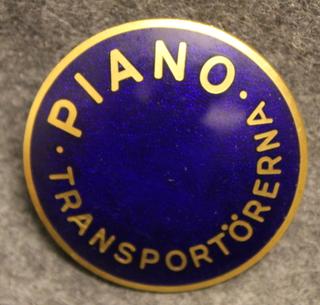 piano transportörerna lakkimerkki