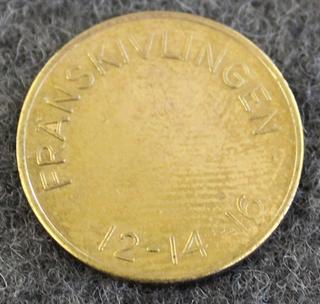 Fränskivlingen, 12-14-16, 21mm