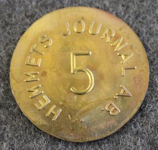 Hemmets Journal AB, Malmö. 5