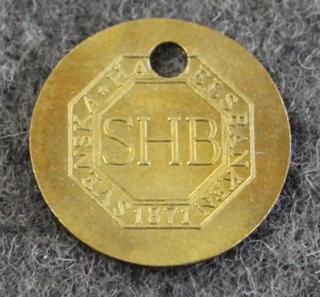 Svenska Handelsbanken SHB, Säästöpankki, 20mm