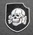 3. SS panssaridivisioona Totenkopf, ommeltava kangasmerkki
