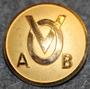 Valbo Omnibus AB (Nyberg, Ålenius & Co). Bussiyhtiö. 26mm kullattu