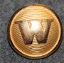 Weidermans Buss AB. Bus company. 24mm gilt