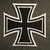 Eisernes Kreuz, Iron cross, sew on patch