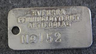 AB Svenska Penninglotteriet AB, Rahapelien järjestäjä.