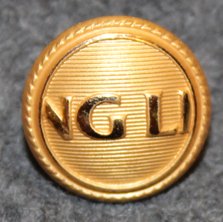 Viking LIne NG LI, Shipping company. 15mm gilt