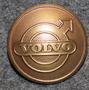 AB Volvo, autojen valmistaja, 24mm, pronssi logolla