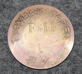 Tygverkstaden F11, ruotsin ilmavoimien materiaalilaitos
