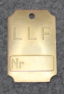 Turbin AB de Laval Ljungström, LLF, Finspång. Nr