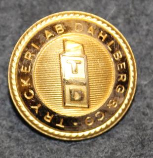 Tryckeri AB Dahlberg & Co, Painotalo / kustantamo, 23mm kullattu