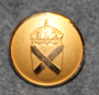 Civilförsvarsstyrelsen, Cfs, Civil defence agency. 22mm gilt LAST IN STOCK