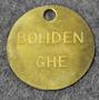 Bolidens Gruvaktiebolag, GHE, kaivos ja sulattoyhtiö.