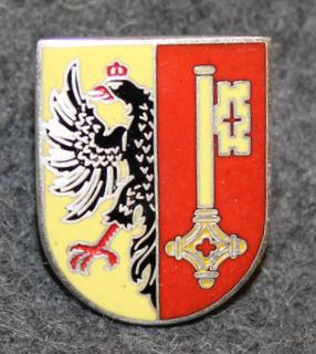 Sveitsin poliisi, lakkimerkki, Geneve