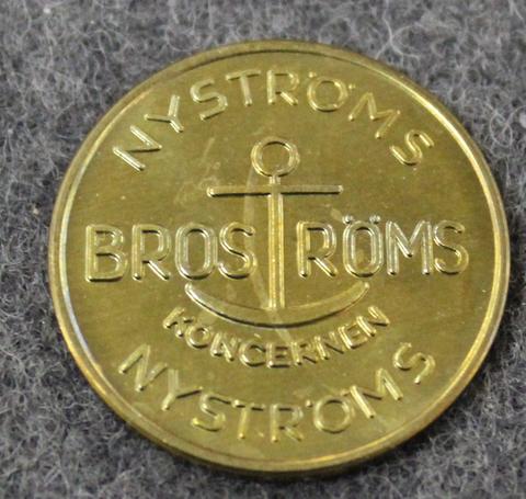 Broströms Koncernen, Nyströms. Laivayhtiö.