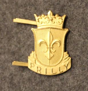 Sveitsin poliisi, lakkimerkki, Prilly