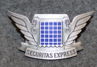 Securitas Express, lakkimerkki