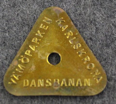 Karlskrona Vämöparken Dansbanan, Tanssiraha