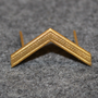 Swiss fire depatrments, rank insignia 3mm, gilt
