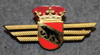 Rintamerkki, sveitsin poliisi. Bern