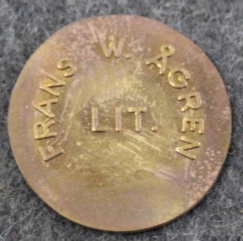 Frans W. Ågren, LIT, Vargön