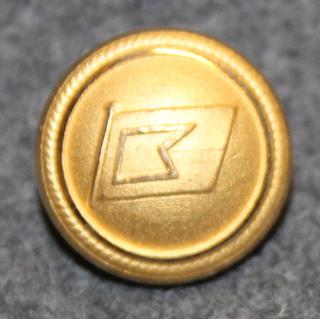 Rederi AB Nord-Line, laivayhtiö, 16mm, kullattu