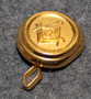 Freemasons, 18mm gilt, cap button.