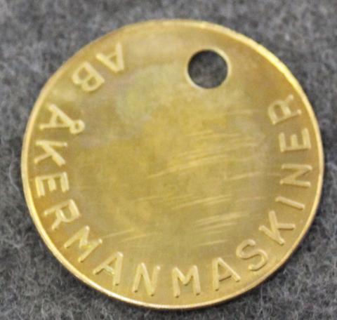 AB Åkermanmaskiner.