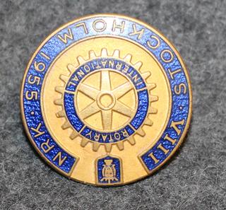 Rotary International, VIII NRK, Stockholm 1955.