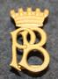 Partille Brandkår. Firebrigade shoulder insignia. LAST IN STOCK