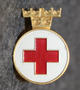 Svenska Röda Korset, frivillighetstecken, Swedish Red Cross volunteer badge