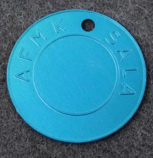 Ammunitionsförrådsgrupp Mellansverige AFMK, Sala. Ammusvarikko, sininen