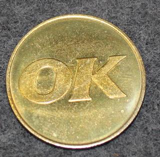 Oljekonsumenternas förbund, OK, öljyalan osuuskunta. 27mm