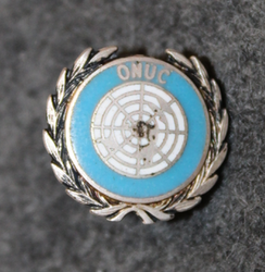 Organisation des Nations Unies au Congo,  ONUC, Badge LAST IN STOCK