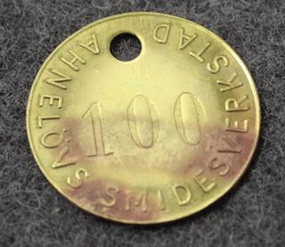 Ahnelövs Smidesverkstad, Huddinge.