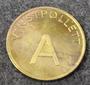 Vinstpollett A, Casino token.