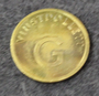 Vinstpollett G, Casino token.