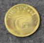 Vinstpollett G, Casino token.