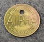 Aktiebolaget Alpha, Sundbyberg, Bakeliitin valmistaja.