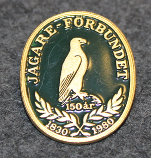 Jägare-Förbundet. 1830-1980. Ruotsin metsästäjäin liitto.