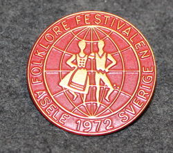 1972 Folklore festivalen, Asele, Sweden.