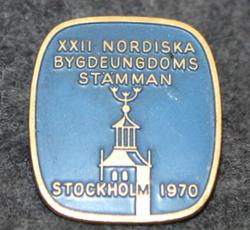 XXII Nordiska bygdeungdoms Stämman