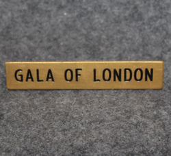 Gala of London, parfyymi