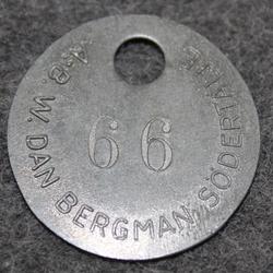 AB W. Dan Bergman, Södertälje