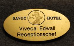 Savoy Hotel, nimikilpi